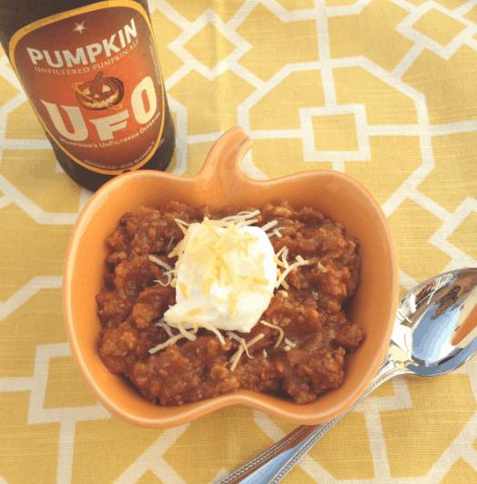 Turkey Pumpkin Ale Chili