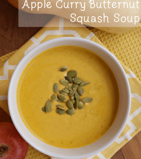 Apple Curry Butternut Squash Soup
