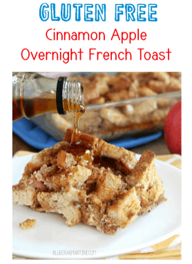 Gluten Free Cinnamon Apple Overnight French Toast