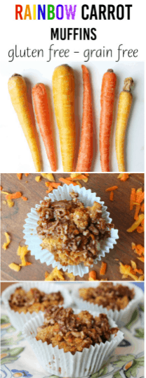 #EatLean2015 Day 6: Rainbow Carrot Muffins