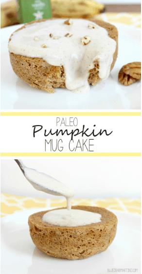 #EatLean2015 Day 9: Paleo Pumpkin Mug Cake