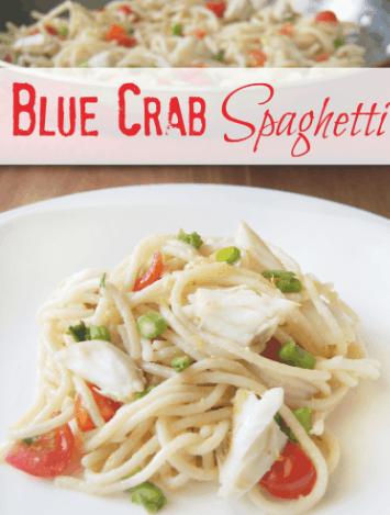 Blue Crab Spaghetti