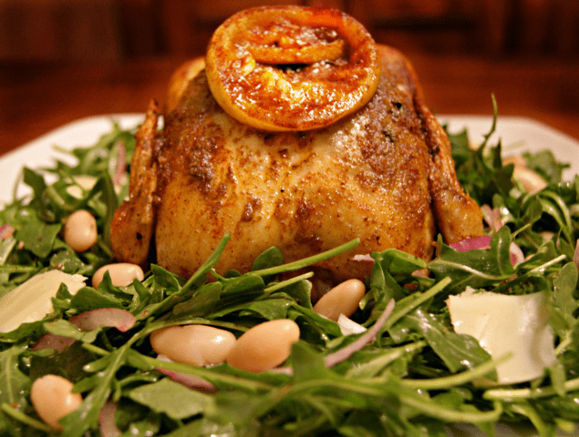 Roasted Chesapeake Cornish Hen