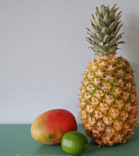 Pineapple Mango Chicken Kabobs