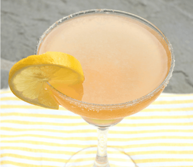 Sippin' on Sunshine- Meyer Lemon Margarita