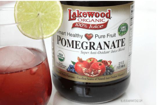 #EatLean2015 Day 2: Pomegranate Splash