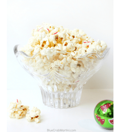 11 Weeks of Wonder #6- Peppermint Bark Popcorn