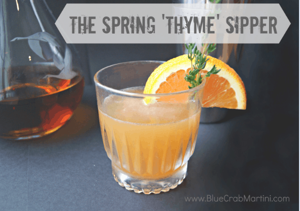 The Spring 'Thyme' Sipper – Happy 1st Day of Spring!