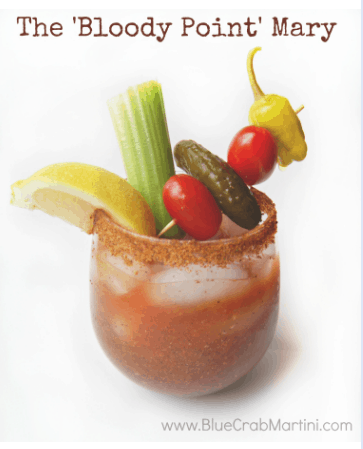 The 'Bloody Point' Mary